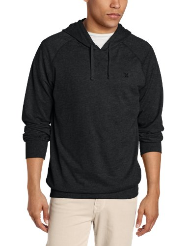 Hurley - Mens The Hooded Fleece Ce Hoodie, Size: Small, Color: Heather Black