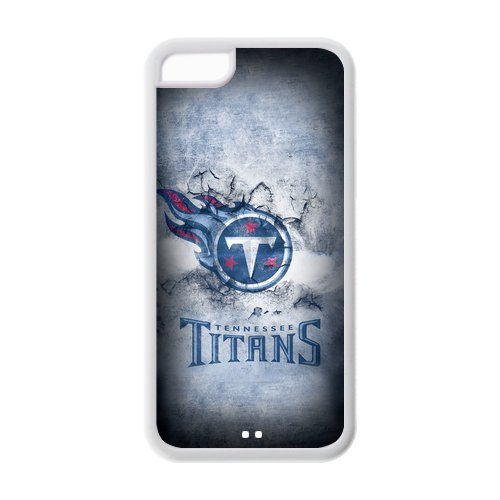 STYLE-UM Custom Case For iphone 5c, TPU iphone 5c Cover, NFL iphone 5c Cover Protection Skin Cases, Tennessee Titans iphone 5c Case UM25045