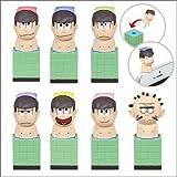 おそ松さん お風呂のフィギュア イヤホンジャック付き 全7種セット