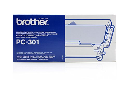 Brother Fax 940 Email - Original Brother PC301 - Ruban Thermique (Rouleau & Cassette -