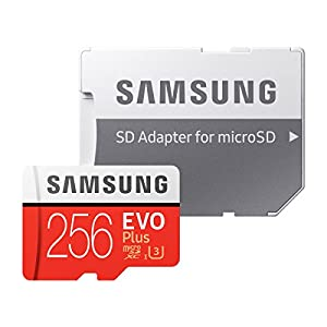 Samsung microSDカード256GB EVOPlus Class10 UHS-I U3対応