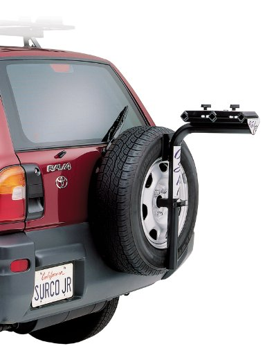 Surco BT300 Spare Tire Mount Bike Rack, Up To 3 Bike Capacity