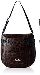Holii Women's Handbag (Brown and Blue)