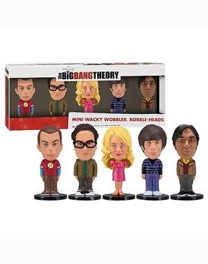 Imagen de Funko Big Bang Theory: Conjunto Mini Wacky Wobbler, de 5 Piezas