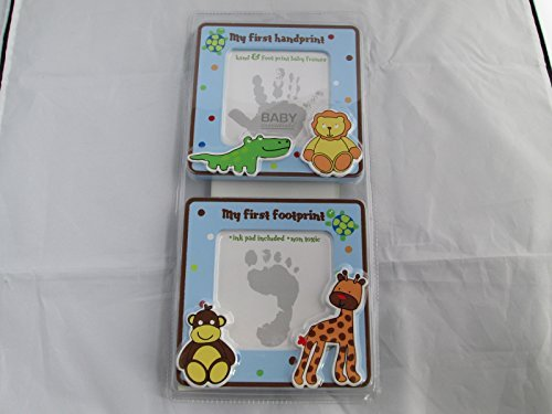 Baby Essentials Hand and Foot Print Baby Frames