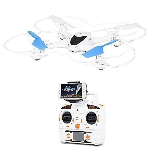 DBPOWER X300C 4CH 2.4G 6-Axis Gyro FPV WIFI RC Drone with 0.3MP Camera