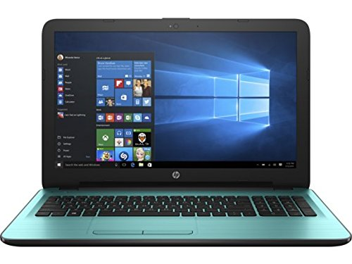 CUK HP 15z Dreamy Teal Student Notebook Computer (2GHz AMD Quad Core Processor, 8GB RAM, 128GB Solid State Drive, Windows...