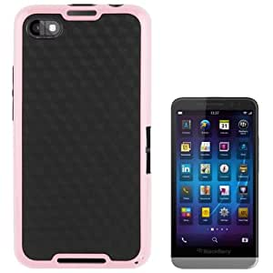 2-color Diamond Pattern Durable TPU Case for BlackBerry Aristo / Z30 (Pink)