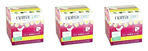 3-pack-natracare-ultra-extra-pads-with-wings-normal-12s-3-pack-super-saver-save-money