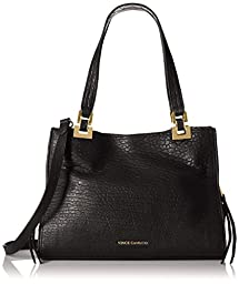 Vince Camuto Adela Satchel Shoulder Bag, Black, One Size