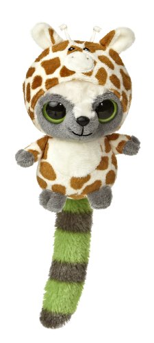 "Aurora World YooHoo & Friends Wanna Be Giraffe Plush, 5"" Tall - 1"
