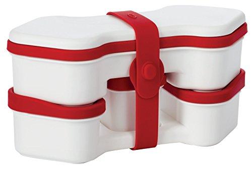 OXO BENTO BOX(レッド/ホワイト) 1272981