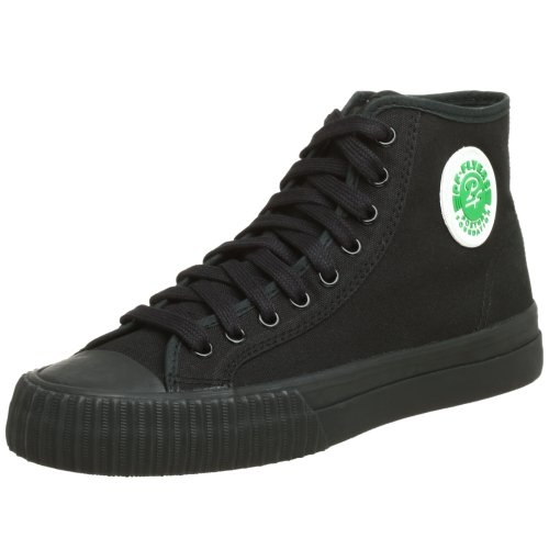 PF Flyers Sandlot Center High Sneaker,Black,Men's 11 M US