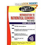 img - for Schaum's Outline Introduction to Mathematical Economics 3rd (Third) Edition byDowling book / textbook / text book