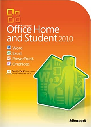 Microsoft Office Home and Student 2010 - 3PCs/1User [Download]