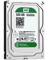 "WD Green 3.5"" Disque dur interne 500 Go intellipower 64 Mo SATA 6Gb/s (WD5000AZRX - bulk)"