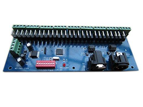 Generic 27 Channel 9 Group Dmx512 Xlr Dimmer Led Driver Controller / Decoder For Led Strip