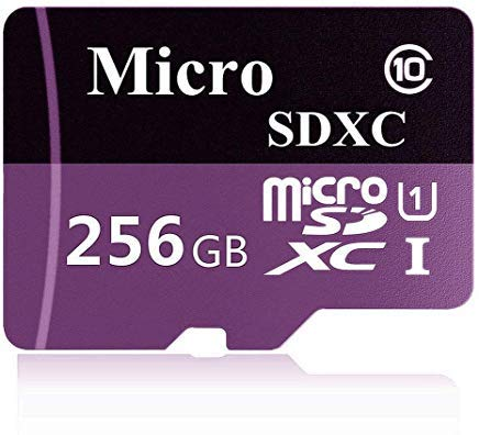 TBLM Disk Micro SD Card 256GB High Speed Class 10 Micro SD SDXC Card with Adapter