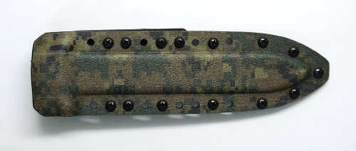 Digital Woodland And Black Color Kydex Sheath For Gerber Mark Ii (Mark 2) Knife