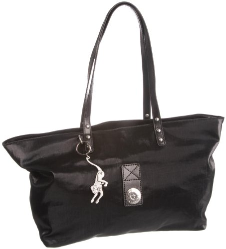 Kipling Women's Lynette A4 Shoulder Bag Black Coated K24609904 Large