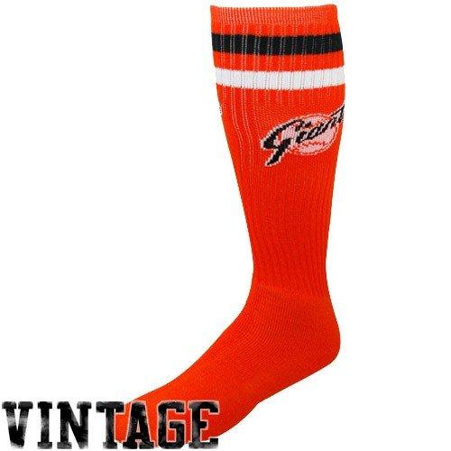 MLB San Francisco Giants Orange Vintage Logo Tube Socks