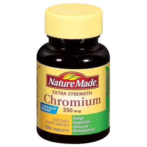 Amazon.com: Nature Made Chromium Extra Strength, 350mcg ...