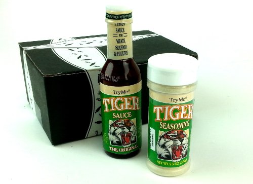 Try Me Tiger Sauce and Seasoning Gift Box