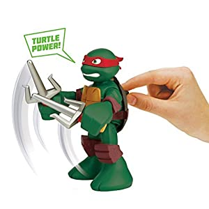 Teenage Mutant Ninja Turtles Pre-Cool Half Shell Heroes 6 Inch Raphael Talking Turtles Figure