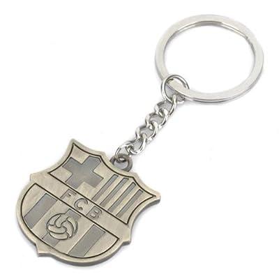 FC Barcelona Metal Keychain