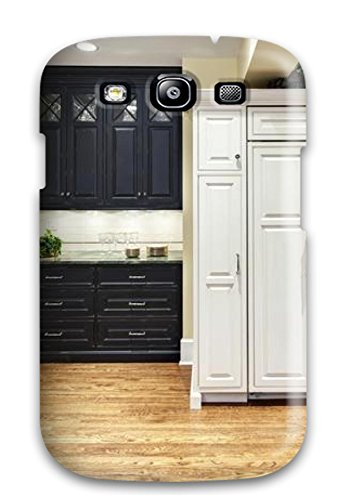 New Arrival Case Specially Design For Galaxy S3 (traditional Kitchen With Wall Ovens And Paneled Fridge) (Floral Refrigerator Cases compare prices)