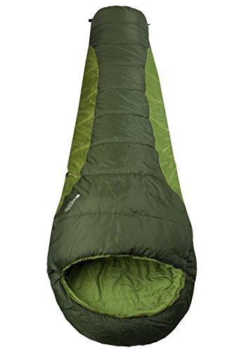 mountain-warehouse-saco-de-dormir-summit-250-verde-right-handed-zip
