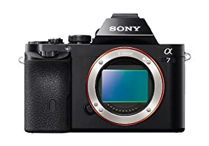 Sony 24.3 MP a7 Full-Frame Interchangeable Digital Lens Camera - Body Only