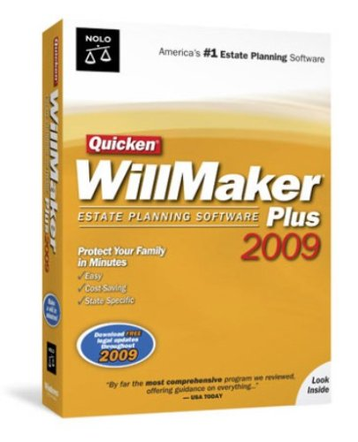 Quicken Willmaker Plus 2009