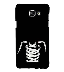 Shoe and Laces 3D Hard Polycarbonate Designer Back Case Cover for Samsung Galaxy A7 (2016) :: Samsung Galaxy A7 2016 Duos :: Samsung Galaxy A7 2016 A710F A710M A710FD A7100 A710Y :: Samsung Galaxy A7 A710 2016 Edition