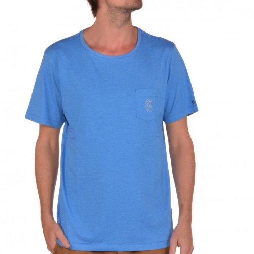 Rip Curl, Crew-Maglietta a maniche corte da uomo Blu blue - directoire blue M