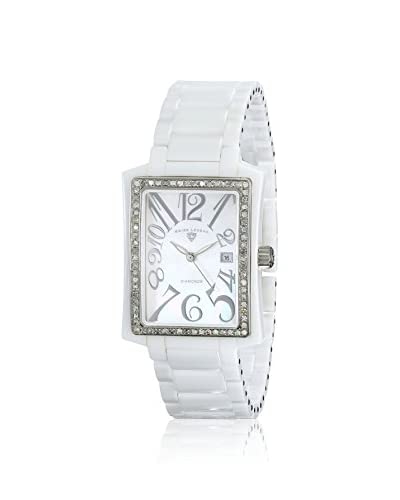 Swiss Legend Women's SL-10034D-WWSA Bella Diamond White/Mother of Pearl Ceramic Watch