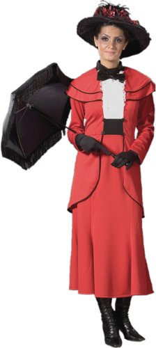 Adult Red Mary Poppins Deluxe Costume