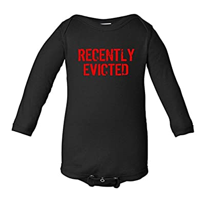 Recently Evicted Infant Long Sleeve Bodysuit