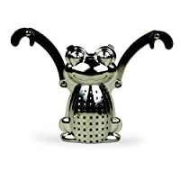 Kikkerland Frog Tea Infuser and Drip Tray
