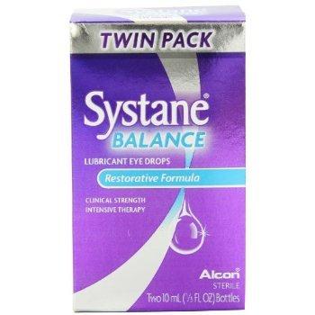 Systane Balance Lubricant Eye Drops, Restorative Formula, Two 10 Ml, 1/3 Fl.Ounce
