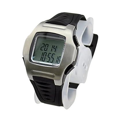 inkint Herren Schiedsrichter Uhr mit Automatischer Kalender Armbanduhr Glockenspiel Soccer Timer für Spiel/Sport/Reise Fußball Watch