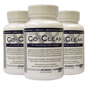 Co Clean Detoxifying Colon Cleanser 56 Tabs - Buy 2 Get 1 FREE - Cleanse Your Body & Jump Start Your Diet Today!