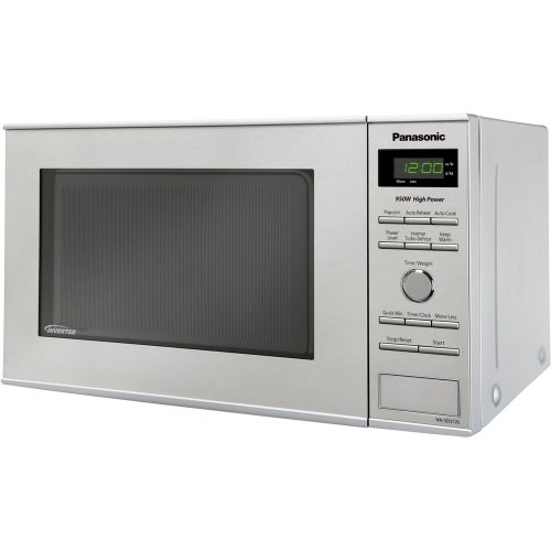 Panasonic NN-SD372S 0.8 Cubic Feet 950-Watt Inverter Microwave, Stainless Steel