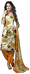 VSS Collections Women's Synthetic Unstitched Dress Material(1058,Multi-Color)