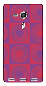 TrilMil Printed Designer Mobile Case Back Cover For Sony Xperia SP