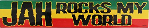 C&D Visionary Reggae Jah Rocks My World Sticker - 1