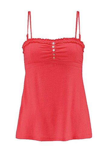 Beach Time - Canotta - stile impero - Basic - Senza maniche  -  donna rosso 42