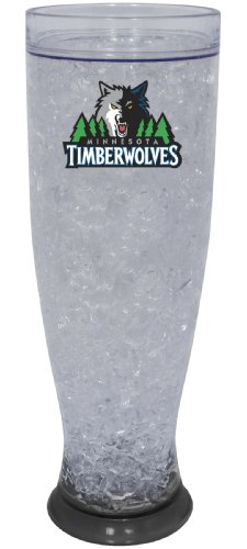 NBA Minnesota Timberwolves Ice Pilsner Glass