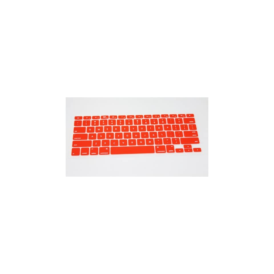 Red Silicone Keyboard Cover Skin Protect for Apple Macbook Laptop 133