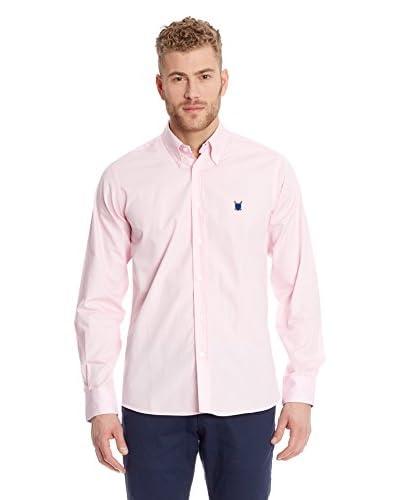 Polo Club Camicia Uomo Fitted Escudo [Rosa]